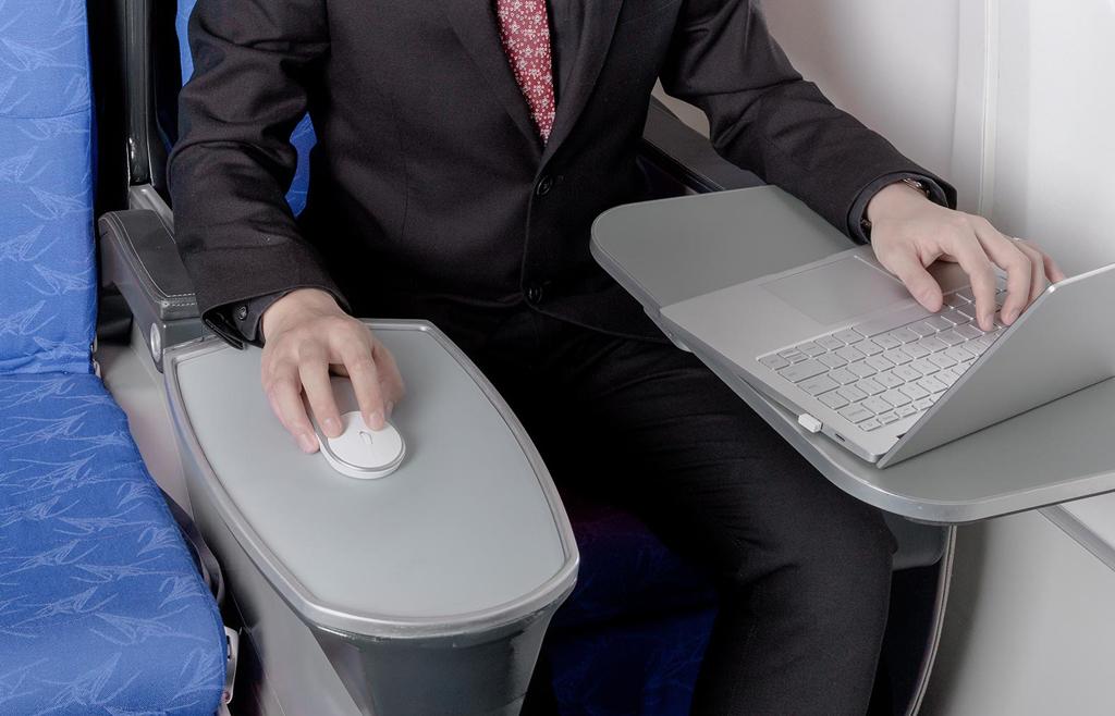 Mi Portable Mouse en uso
