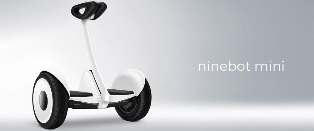 Imagen de producto, Ninebot Mini blanco