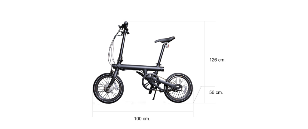 Medidas de Bici Mi QiCycle Electric