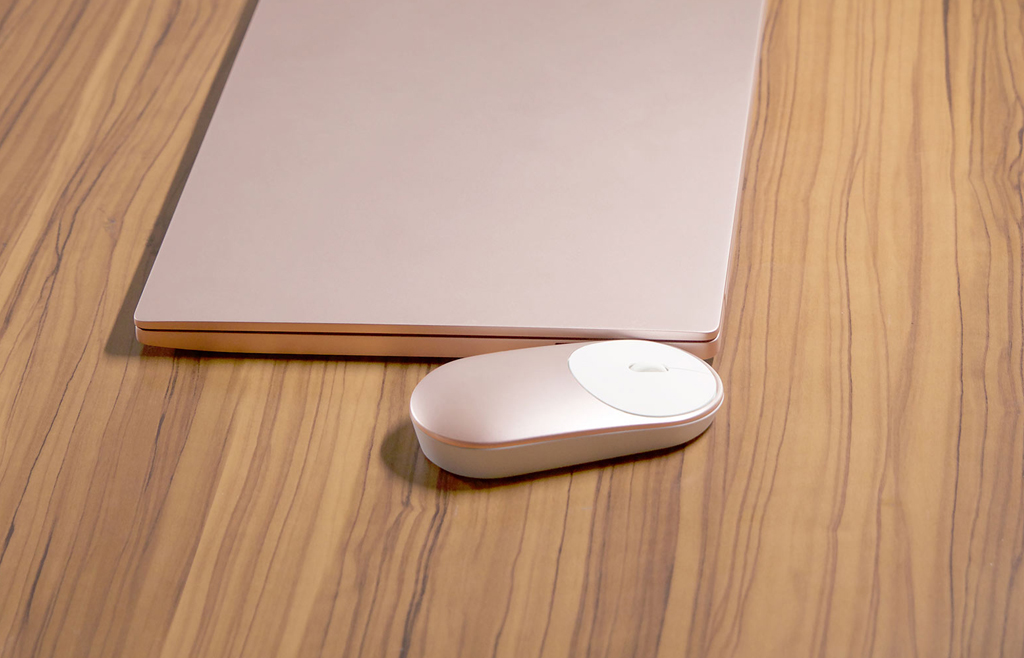 Mi Portable Mouse con portatil
