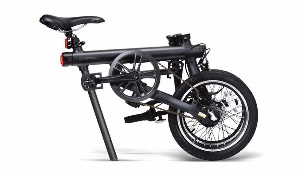 Bici modelo Mi QiCycle plegada